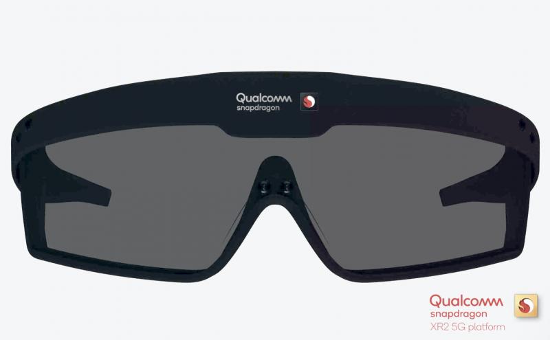 Tämän kaltaisia AR-laseja Qualcommin Snapdragon XR2:n kanssa voidaan toteuttaa.