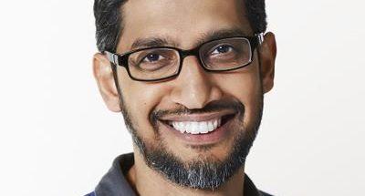 Alphabetin ja Googlen toimitusjohtaja Sundar Pichai.