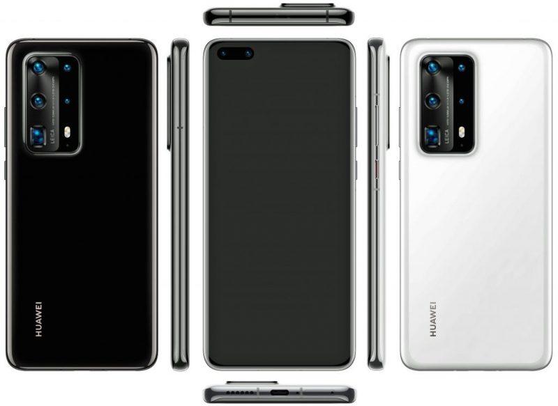 Huawei P40 Pro+. Kuva: @evleaks.
