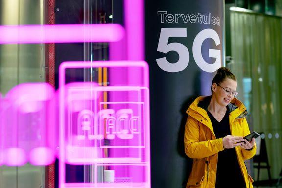 DNA aloittaa 5G-liittymien myynnin.