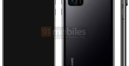 Huawei P40. Kuva: 91mobiles.