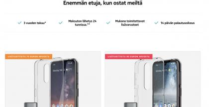 Nokia-verkkokaupassa on käynnissä vielä tarjouskausi.
