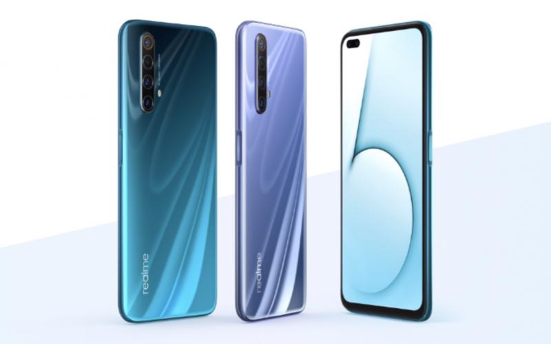 Realme X50 5G:n värivaihtoehdot.
