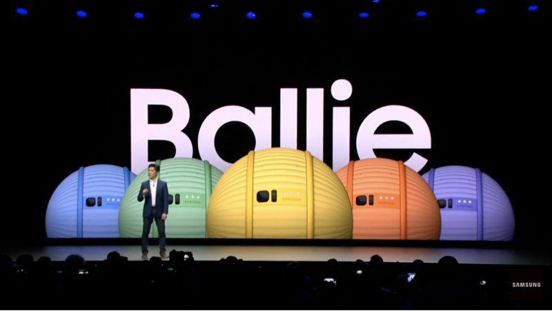Samsungin Ballie.