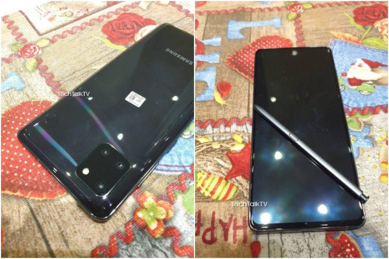 Samsung Galaxy Note10 Lite ja S Pen -kynä. Kuvat: TechTalkTV.