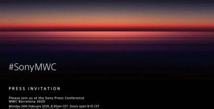 Sonyn alkuperäinen ilmoitus lehdistötilaisuudesta maanantaiaamulla 24. helmikuuta.