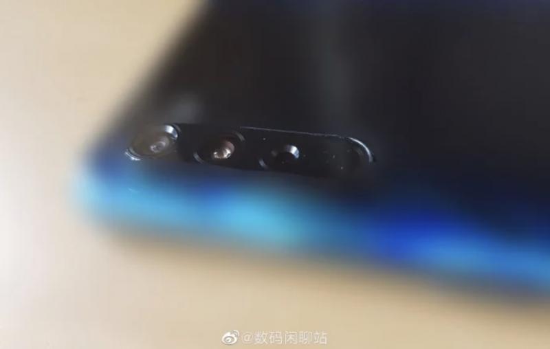 Väitetty Xiaomin Mi 10:n kamera-alue.
