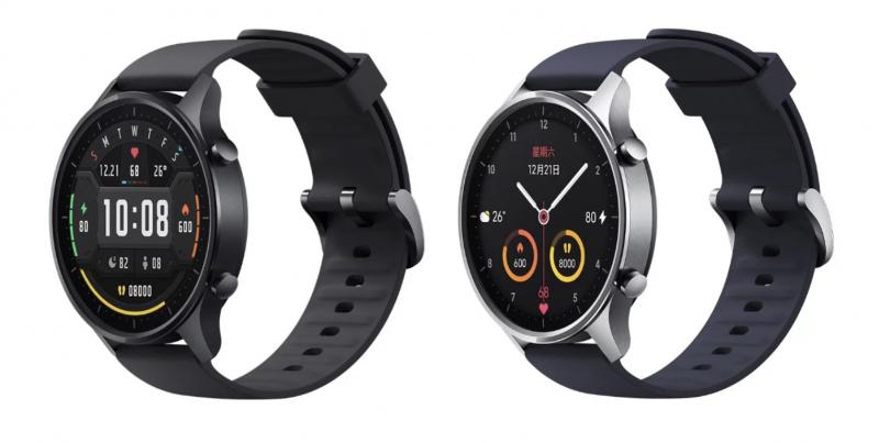 Xiaomin Mi Watch Colorin kaksi eri runkovärivaihtoehtoa.
