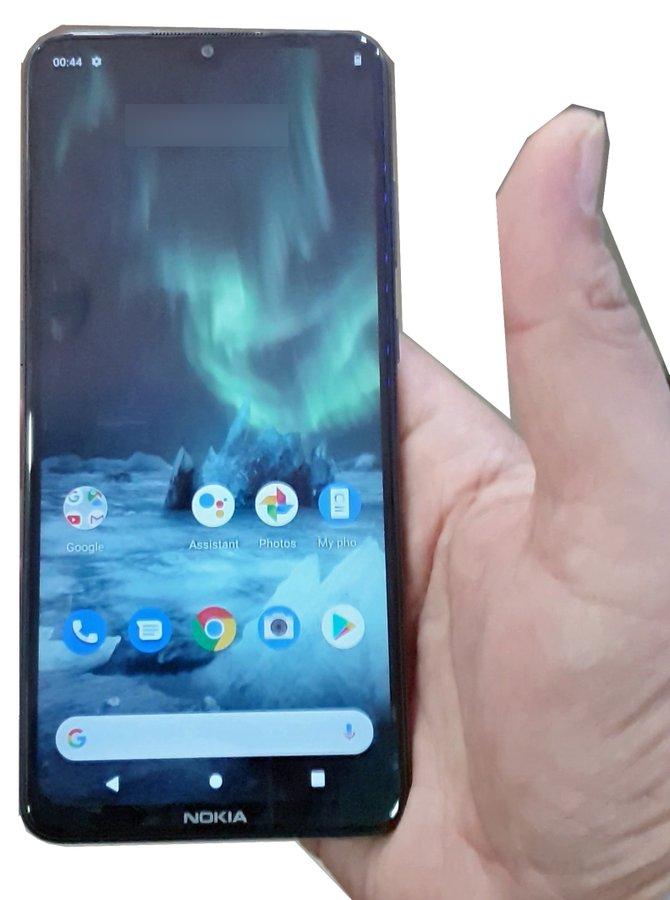Uusi Nokia-älypuhelin. Kuva: Evan Blass.