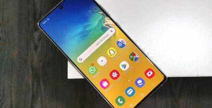 Android 11 / One UI 3 -päivityksen jakelu on alkanut nyt Samsung Galaxy S10 Litelle.
