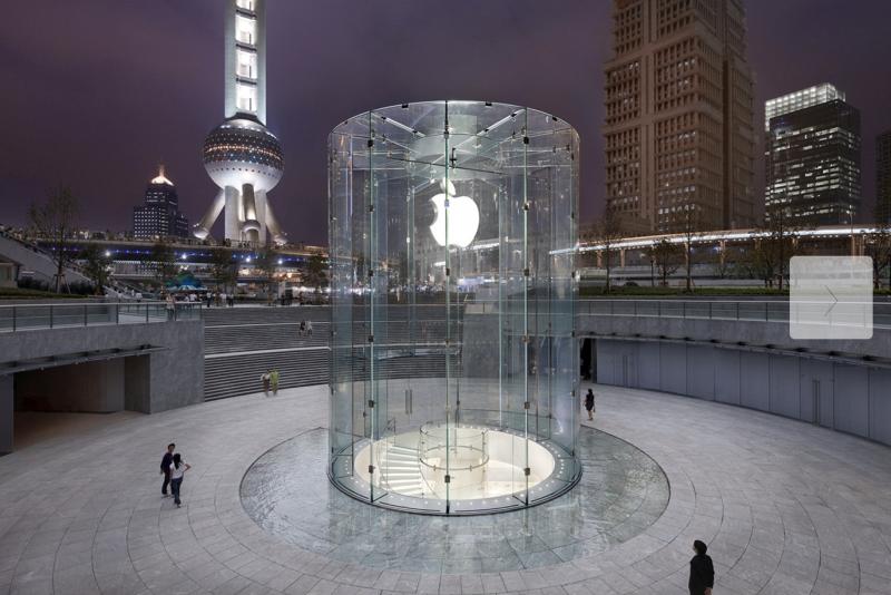 Apple Store Kiinan Shanghaissa.