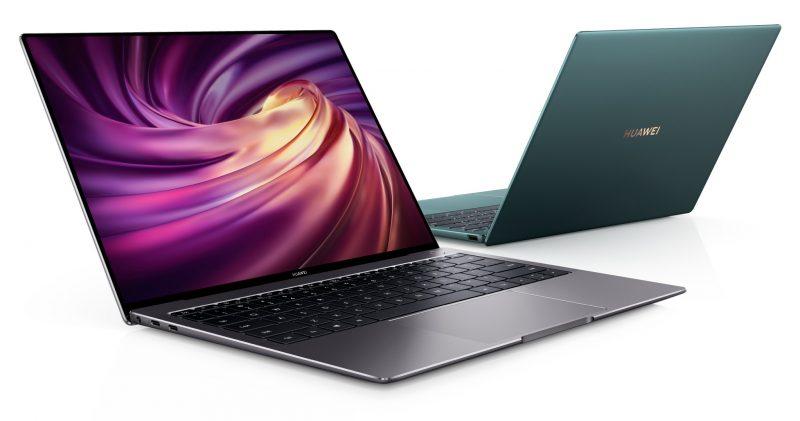 Uusi Huawei MateBook X Pro. Vihreä väri ei kuulu valikoimiin Suomessa.