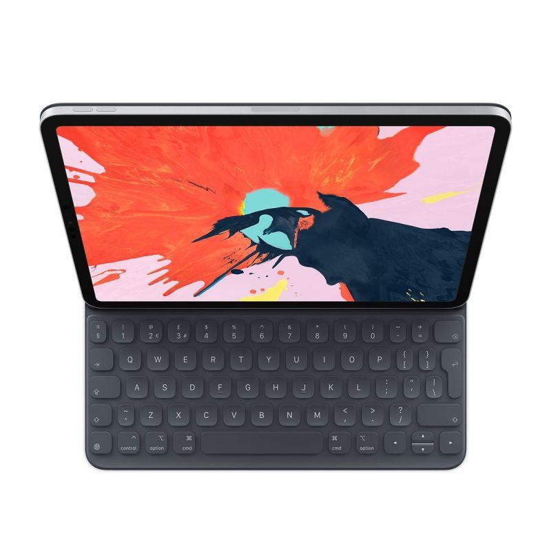 Nykyinen iPad Pro ja Smart Keyboard Folio -näppäimistö.