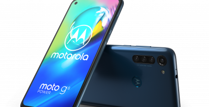Motorola Moto G8 Power, Capri Blue.
