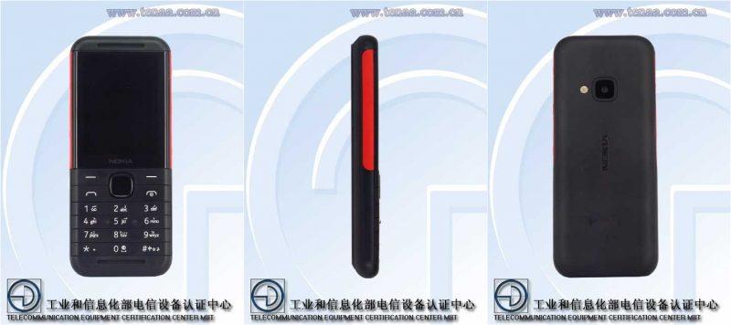 Toistaiseksi mallikoodilla TA-1212 tunnettava Nokia-peruspuhelinmalli kiinalaisviranomaisen TENAAn kuvissa.