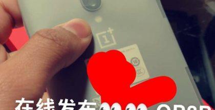 OnePlus 8 Pro ensi kertaa live-vuotokuvassa.