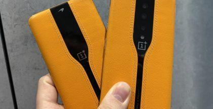 OnePlus Concept One - kamerat piilossa ja kamerat näkyvissä.
