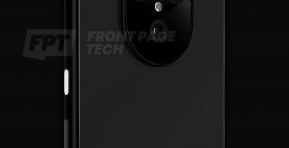 Googlen Pixel 5 -älypuhelin voi näyttää tällaiselta. Kuva: FrontPageTech.