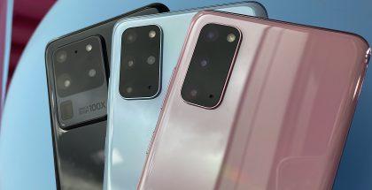 Galaxy S20 Ultrassa ja Galaxy S20+:ssa on neljä kameraa, Galaxy S20:ssä kolme. Kameroissa Ultran ja kahden muun mallin välillä on myös merkittäviä eroja.