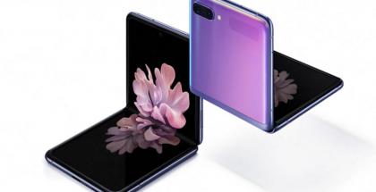 Samsung Galaxy Z Flip on taittuvanäyttöinen simpukkapuhelin.