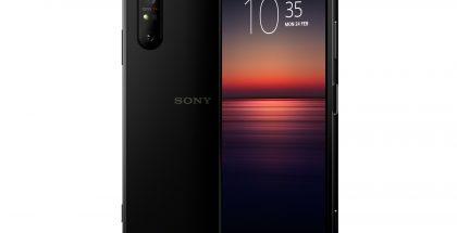 Sony Xperia 1 II mustana värivaihtoehtona.