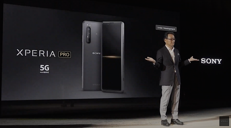 Sony Xperia Pro.
