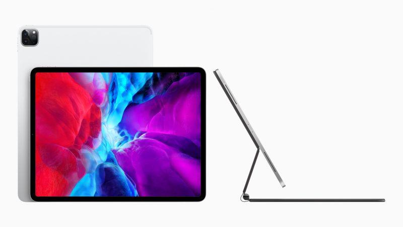 Applen uusi iPad Pro ja Magic Keyboard -näppäimistö.