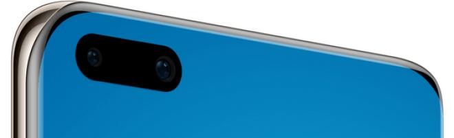 P40 Pro sisältää 32 megapikselin etukameran lisäksi myös syvyys- ja infrapunakamerat.