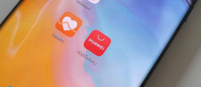 Google Play -kaupan korvaa Huawein App Gallery.