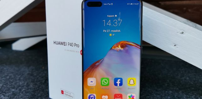 Arvostelussa Huawei P40 Pro -huippupuhelin: Kamerapuhelinten eliittiä ja muutenkin upea laite – sovellukset kysymysmerkkinä