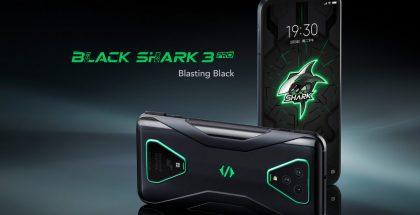 Black Shark 3 Prossa on peräti 7,1 tuuman näyttö.