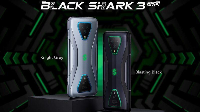 Black Shark 3 Pron värivaihtoehdot.