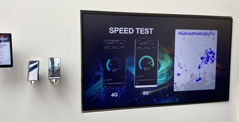 Tiedonsiirtonopeus on 5G-verkossa moninkertainen verrattuna 4G:hen.