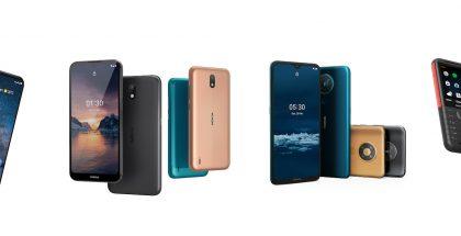 HMD Globalin tämän kevään uutuuspuhelimia: Nokia 8.3 5G, Nokia 1.3, Nokia 5.3 ja Nokia 5310.