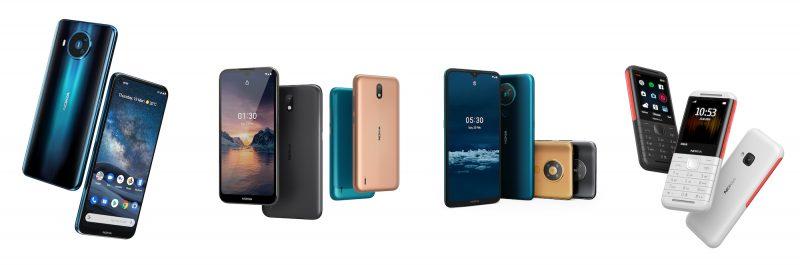 HMD:n päivän uutuudet: Nokia 8.3 5G, Nokia 1.3, Nokia 5.3 ja Nokia 5310.