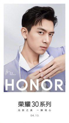 Honorin ennakkokuva Honor 30 -julkistuksesta 15. huhtikuuta.