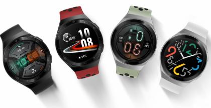 Nykyinen Huawei Watch GT 2e. Mallisarja on saamassa jatkoa Huawei Watch GT 2 Prosta.