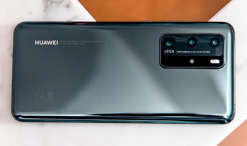 Huawei P40 Prossa on neljä takakameraa.