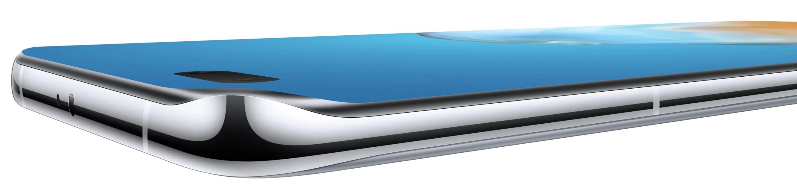 P40 Pron Overflow Display -näyttö kaartuu neljälle reunalle.
