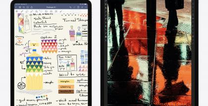 Nykyiset 11 ja 12,9 tuuman iPad Pro.
