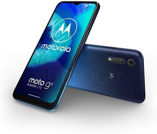Motorolan tuleva Moto G8 Power Lite. Kuva: HDBlog.it.