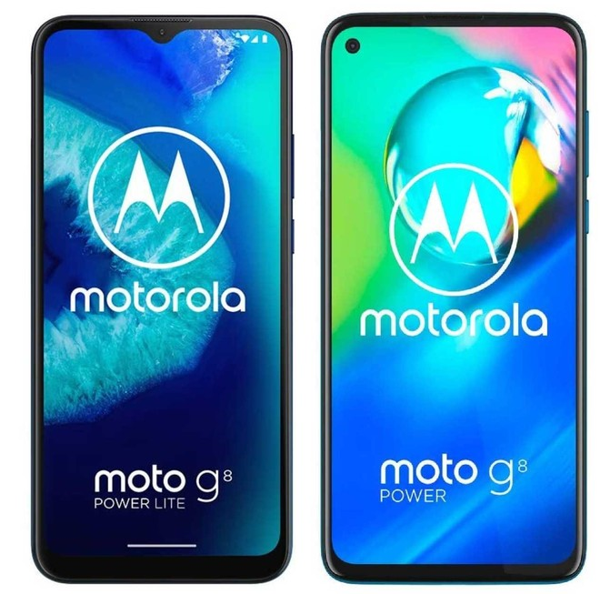 Moto G8 Power Lite vs. Moto G8 Power. Kuva: HDBlog.it.