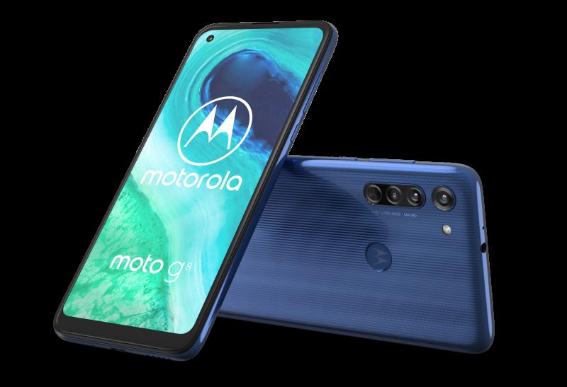 Motorola Moto G8.