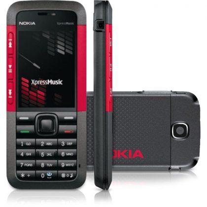 Alkuperäinen Nokia 5310 XpressMusic vuodelta 2007.