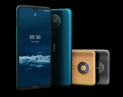 Nokia 5.3 on HMD Globalin tuoreimpia älypuhelinmalleja.