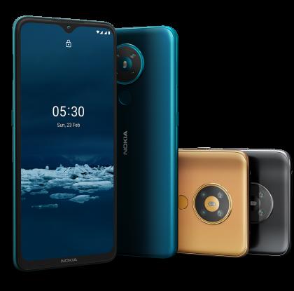 Uusi 199 euron Nokia 5.3 -älypuhelin tuli myyntiin Suomessa yhdessä värissä