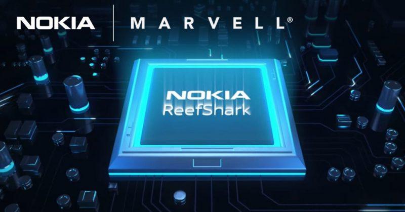 Nokia aloittaa yhteistyön Marvellin kanssa ReefSharkin laajentamiseksi.