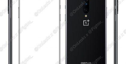 OnePlus 8. Kuva: OnLeaks / Pigtou.