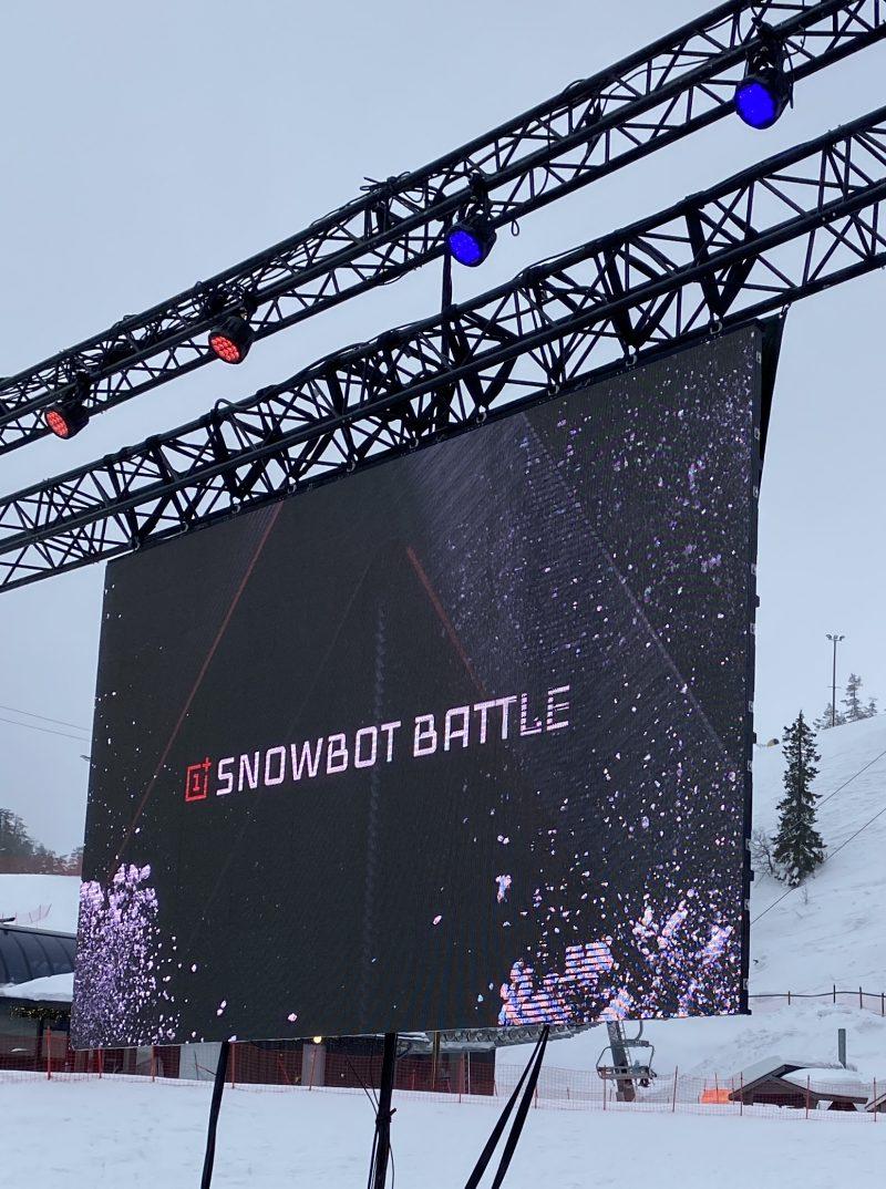 OnePlussan ja Elisan järjestämä Snowbot Battle käydään Kuusamon Rukalla.