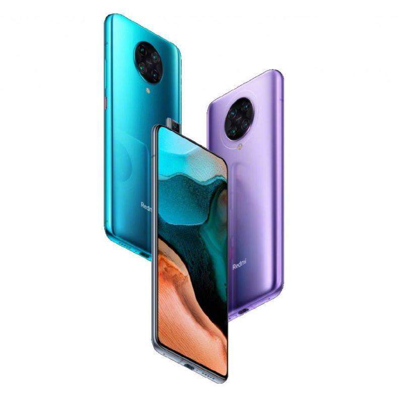 Redmi K30 Pro -puhelimet on varustettu 6,67 tuuman näytöllä, esiin nousevalla etukameralla sekä neljällä takakameralla.